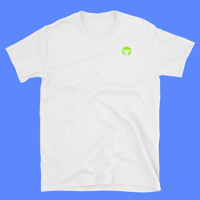 Green Ape White T