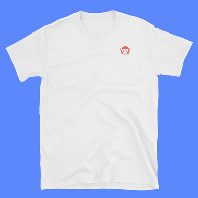 Red Ape White T