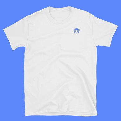 Blue Ape White T