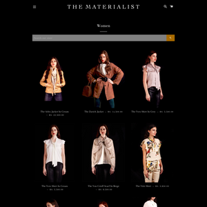The Materialist Clothing