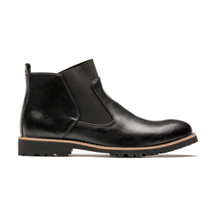 Men's Hugh Chelsea Boots, Created for ETOO/Black