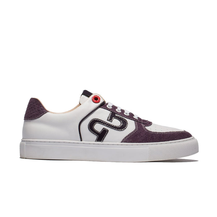 CASUAL LACE-UP SKATE SHOES PURPLE