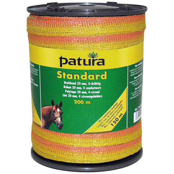 patura-weidezaun-band-standard-20mm-4x-016-niro-gelb-orange-1x-200m