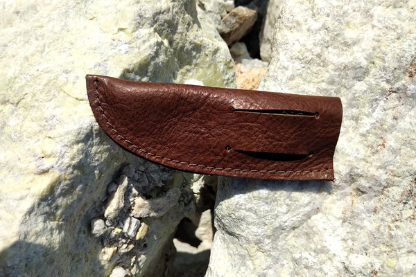 "Leather Sheath - 3"" Peasant Knife"