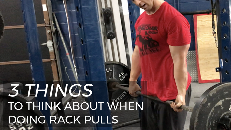 EP.116 | 3 Things to Think About When Doing Rack Pulls
