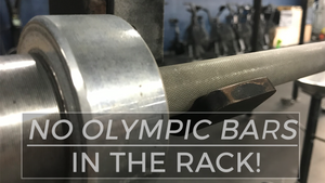 EP.122 | NO Olympic Bars in the Rack!