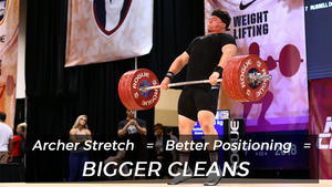 EP.127 | Archer Stretch = Better Positioning = BIGGER CLEANS