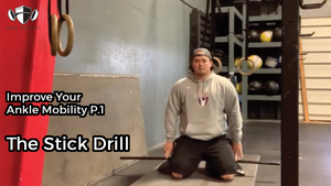 EP.141 | Improve Your Ankle Mobility P.1 - The Stick Drill
