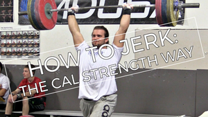 EP.73 | How to Split Jerk... Cal Strength Style