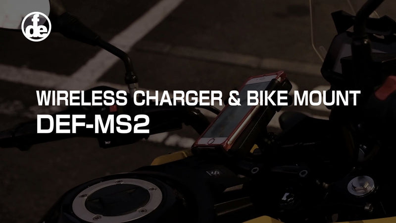 DEF ワイヤレスチャージャー&バイクマウント DEF-MS2 PV