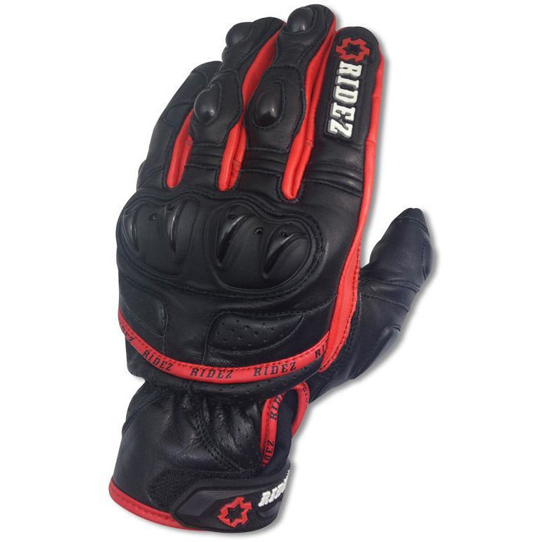 RIDEZ OCTANE GLOVE RED