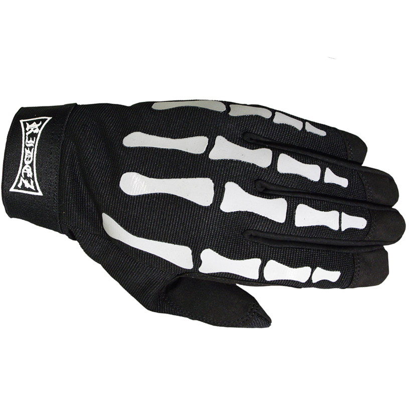 RIDEZ MECHANIC GLOVES BONES  RMG111