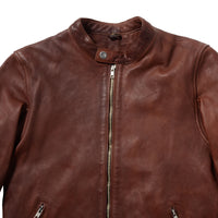 BLACKFLAG SINGLE RIDERS JACKET BROWN  BFJ01