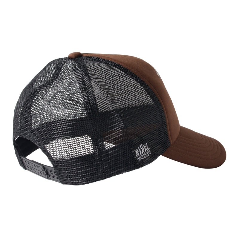 RIDEZ MESHCAP MOTORCYCLE BROWN RC02