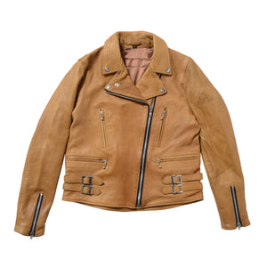 SugarRidez DOUBLE RIDERS JACKET CONIK BROWN  BFJ03
