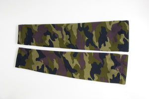 RIDEZ COMRESSION SLEEVE CAMO/GREEN  RCS1