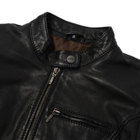 HEARTS JACKET BLACK  SLJ200