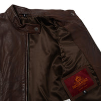 SugarRidez HEARTS JACKET BROWN  SLJ201