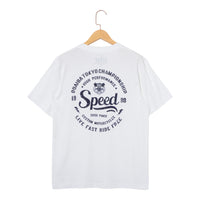 RIDEZ Tee SPEED RT13 WHITE
