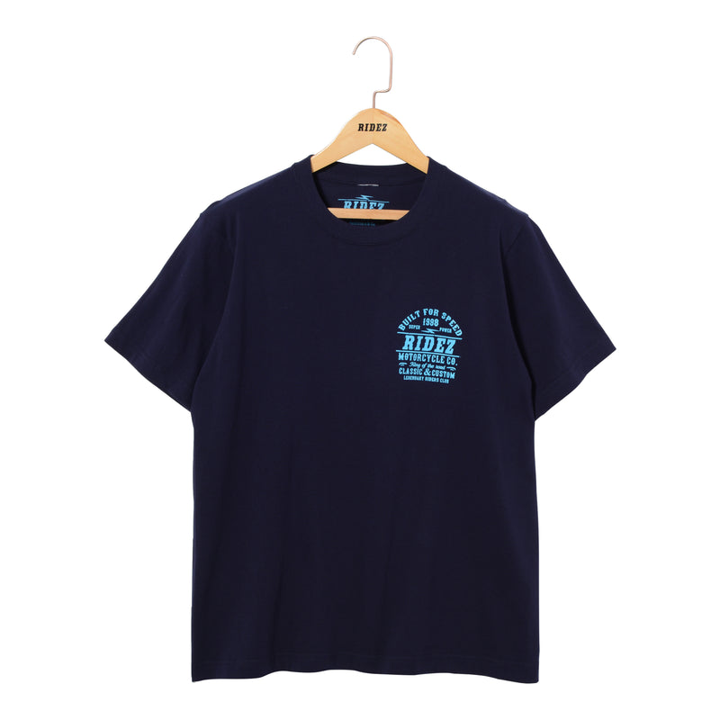 RIDEZ Tee SPEED RT13 NAVY