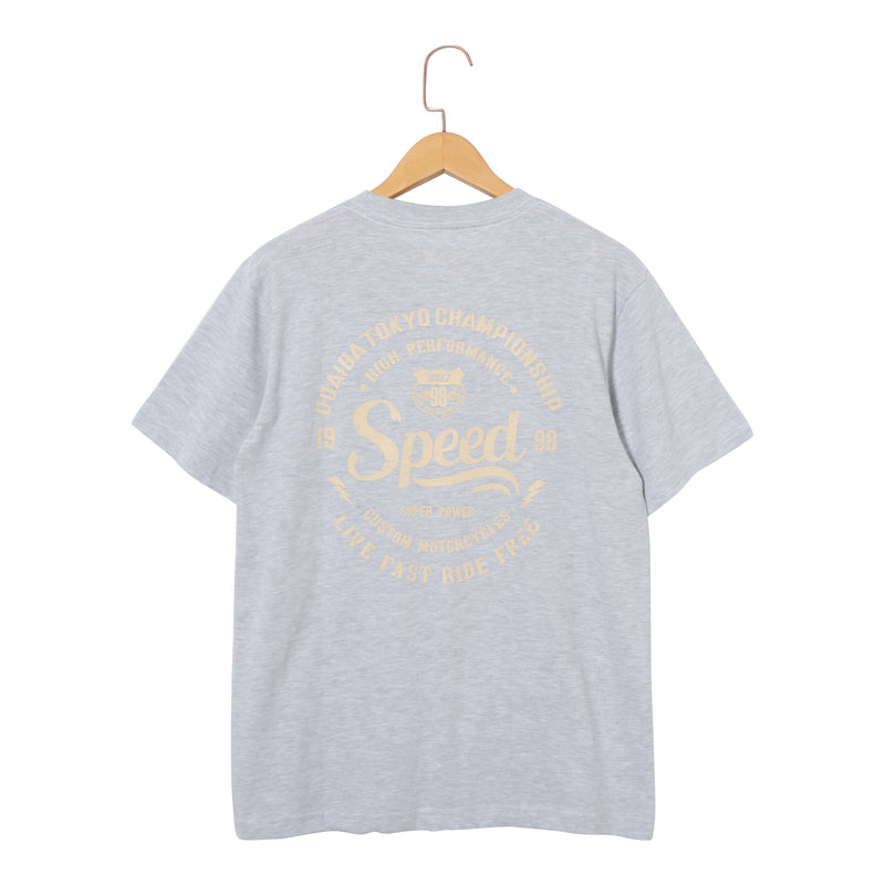 RIDEZ Tee SPEED RT13 ASH