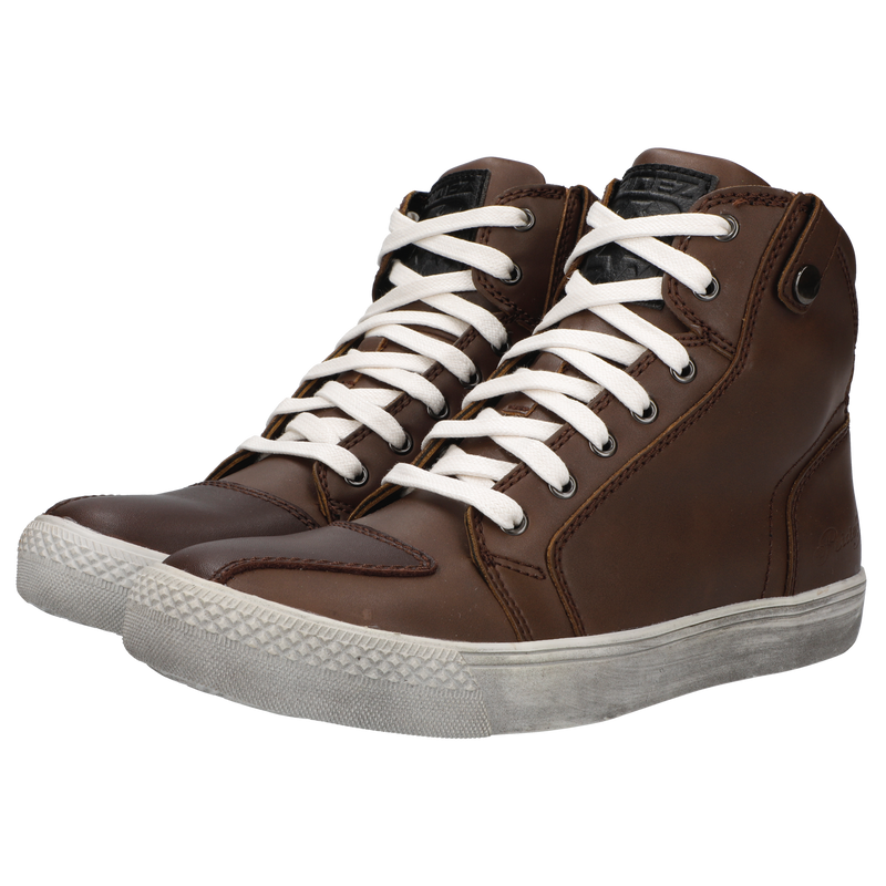 RIDEZ SNEAKERS MOTO-01 BROWN