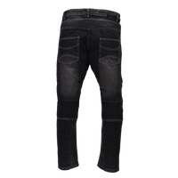 RIDEZ BIKER DENIM  RDB01 BLACK