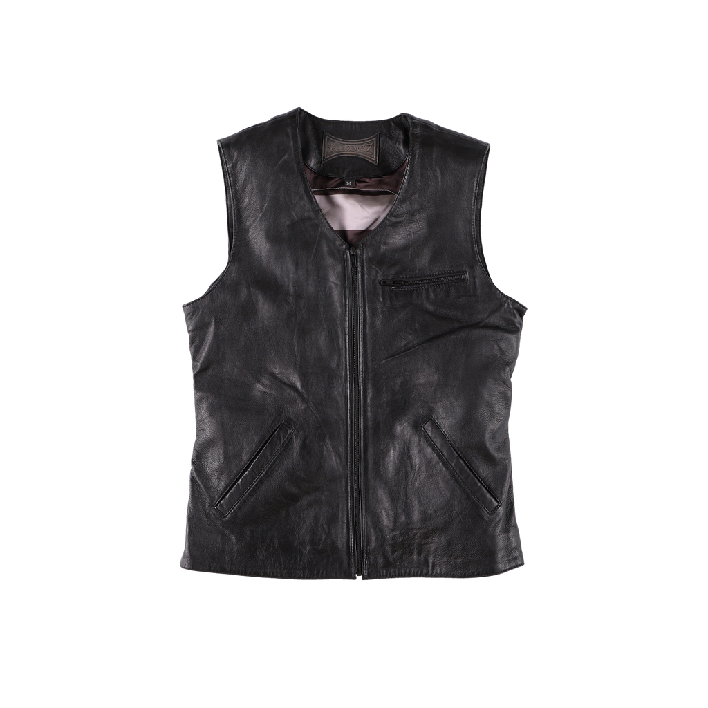 RIDEZ CUSTOMBACK VEST BLACK  RLV1601