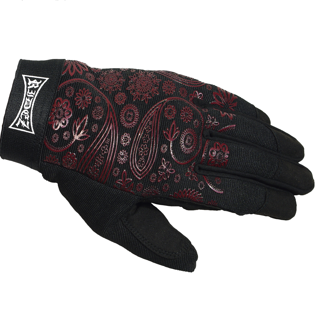 RRIDEZ MECHANIC GLOVES PAISLEY  RMG115