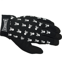 RIDEZ MECHANIC GLOVES SKULL  RMG113