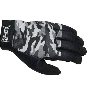 RIDEZ MECHANIC GLOVES CAMO/GRAY  RMG116