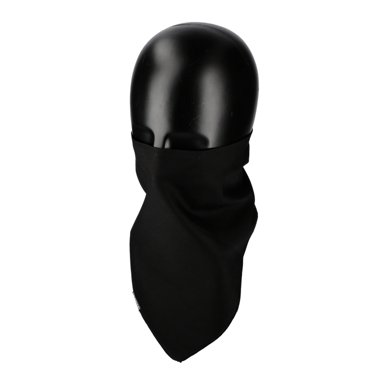 RIDEZ NEO BANDANA MASK SOLID BLACK RNB06