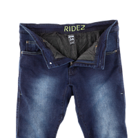 RIDEZ FULL KEVLAR DENIM RDB04 BLUE