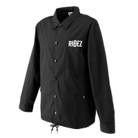 RIDEZ CUSTOM COACH JACKET BLACK RCJ01