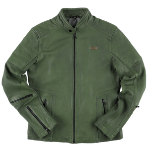 RIDEZ BLACK FLAG 101 JACKET GREEN BFJ04