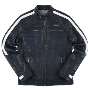 RIDEZ COMP4 JACKET NAVY RLJ211