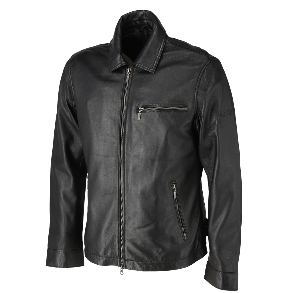 RIDEZ RR VALIANT JACKET BLACK RR02