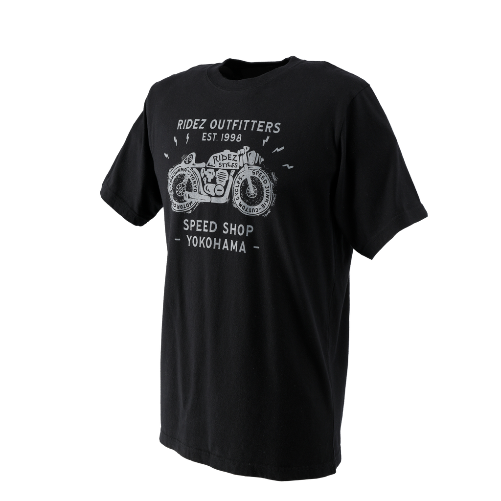 RIDEZ SPEED SHOP TEE  RT17