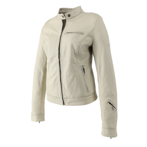 SugarRidez HEARTS JACKET OFF-WHITE  SLJ202