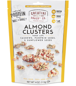 Almond Clusters: Cashews, Pumpkin Seeds, and Sunflower Seeds  10.00% Off Auto renew