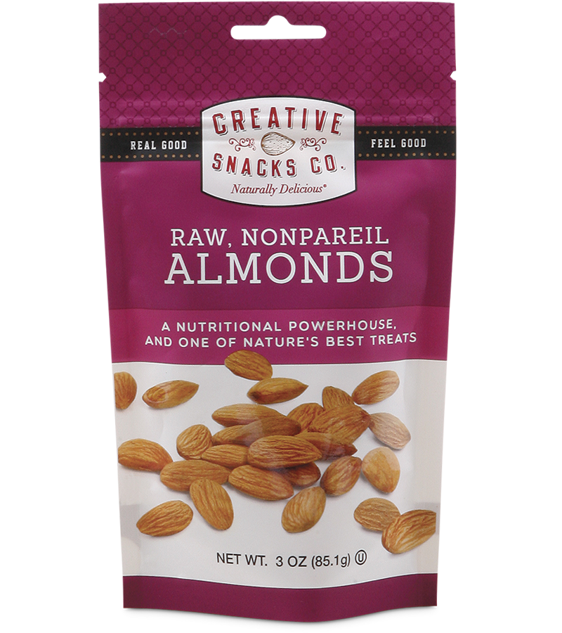 Raw, Nonpareil Almonds