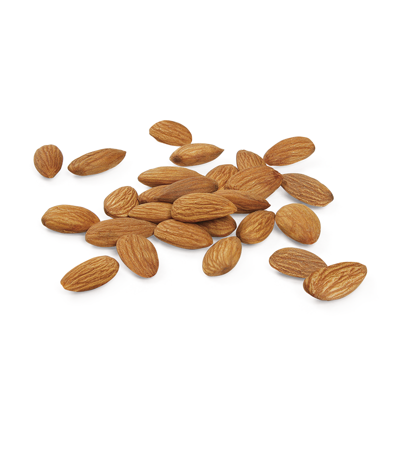 Nuts & Seeds : Raw, Nonpareil Almonds