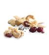 Organic Coconut Snacks: Cranberries, Cashews, Almonds and Chia Seeds