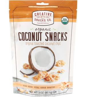 Organic Coconut Snacks: Original Toasted Coconut Chips