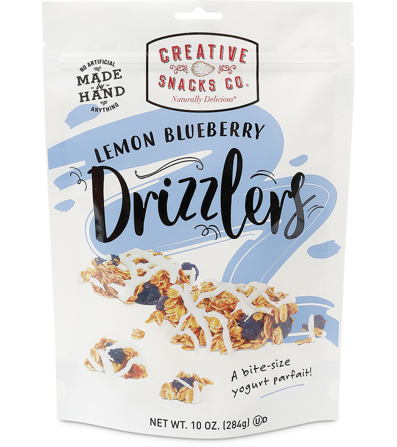 Drizzlers: Lemon Blueberry