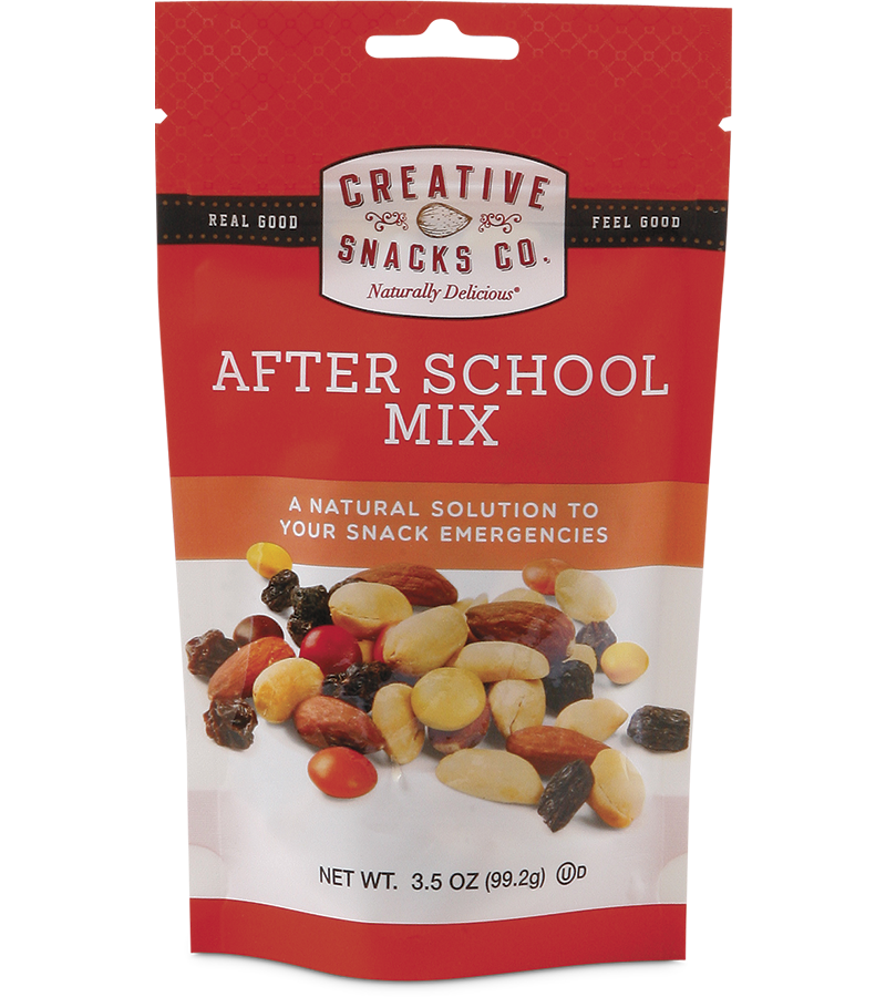 Creative Snacks After School Mix