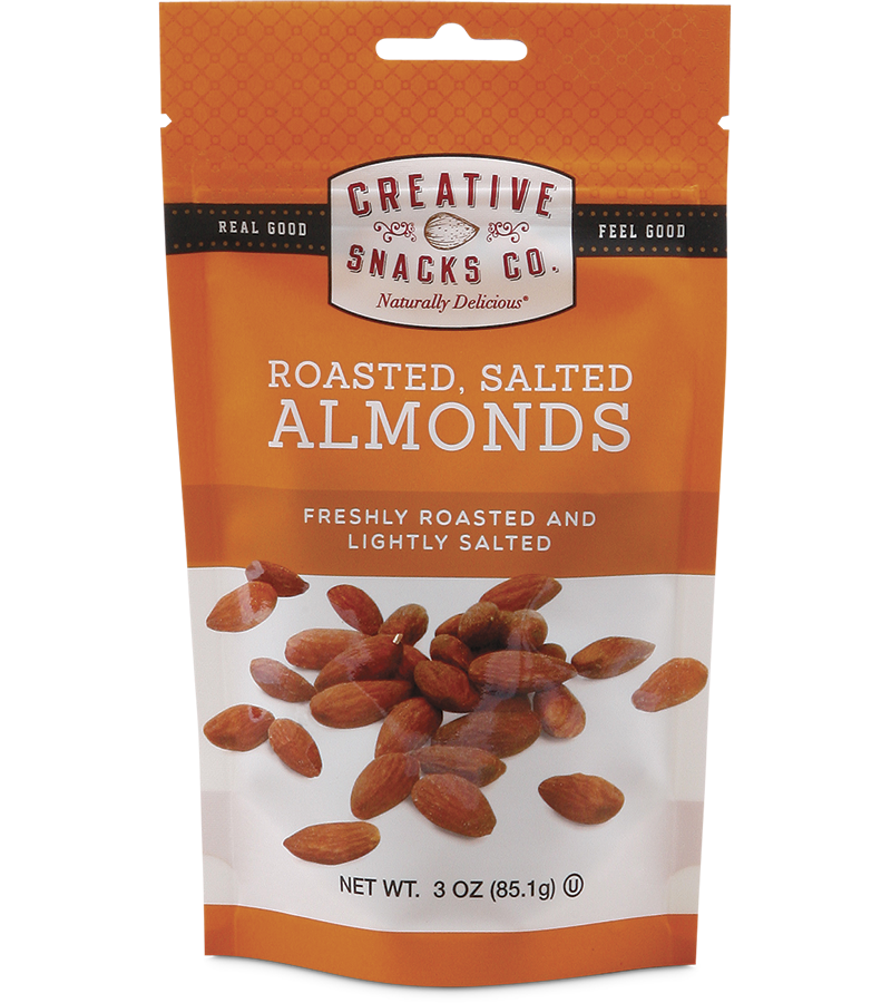 Nuts & Seeds : Roasted Salted Almonds