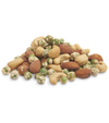 Wasabi Nut Mix: Wasabi Peas, Roasted Salted Cashews, Roasted Salted Almonds