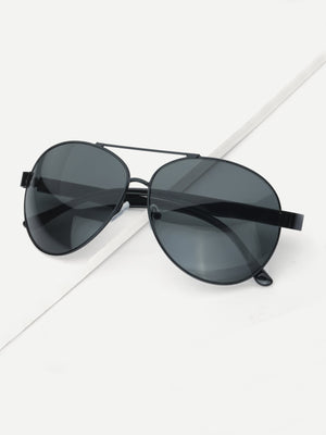 Driving Sunglasses - Men Top Bar Aviator Sunglasses