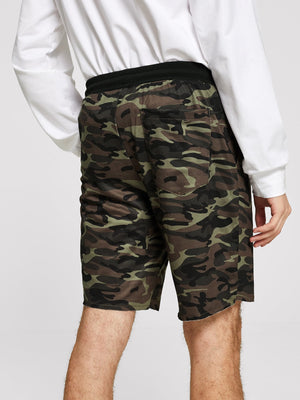 Men's Shorts - Figure Print Pullover